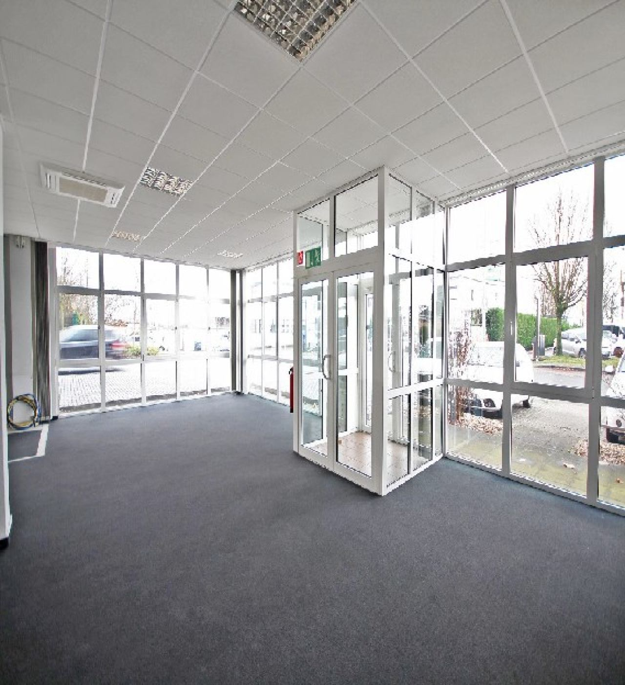 Großraumbüro Blick 1