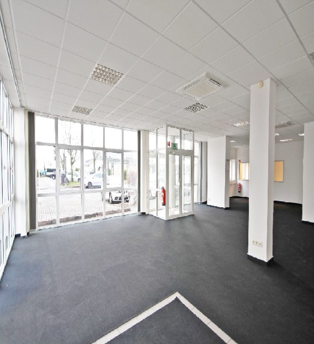 Großraumbüro Blick 2