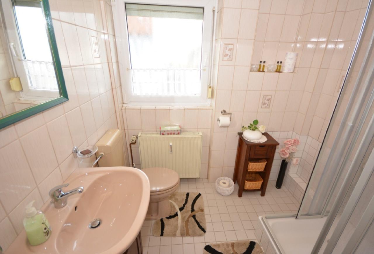 Duschbad im Obergeschoss
