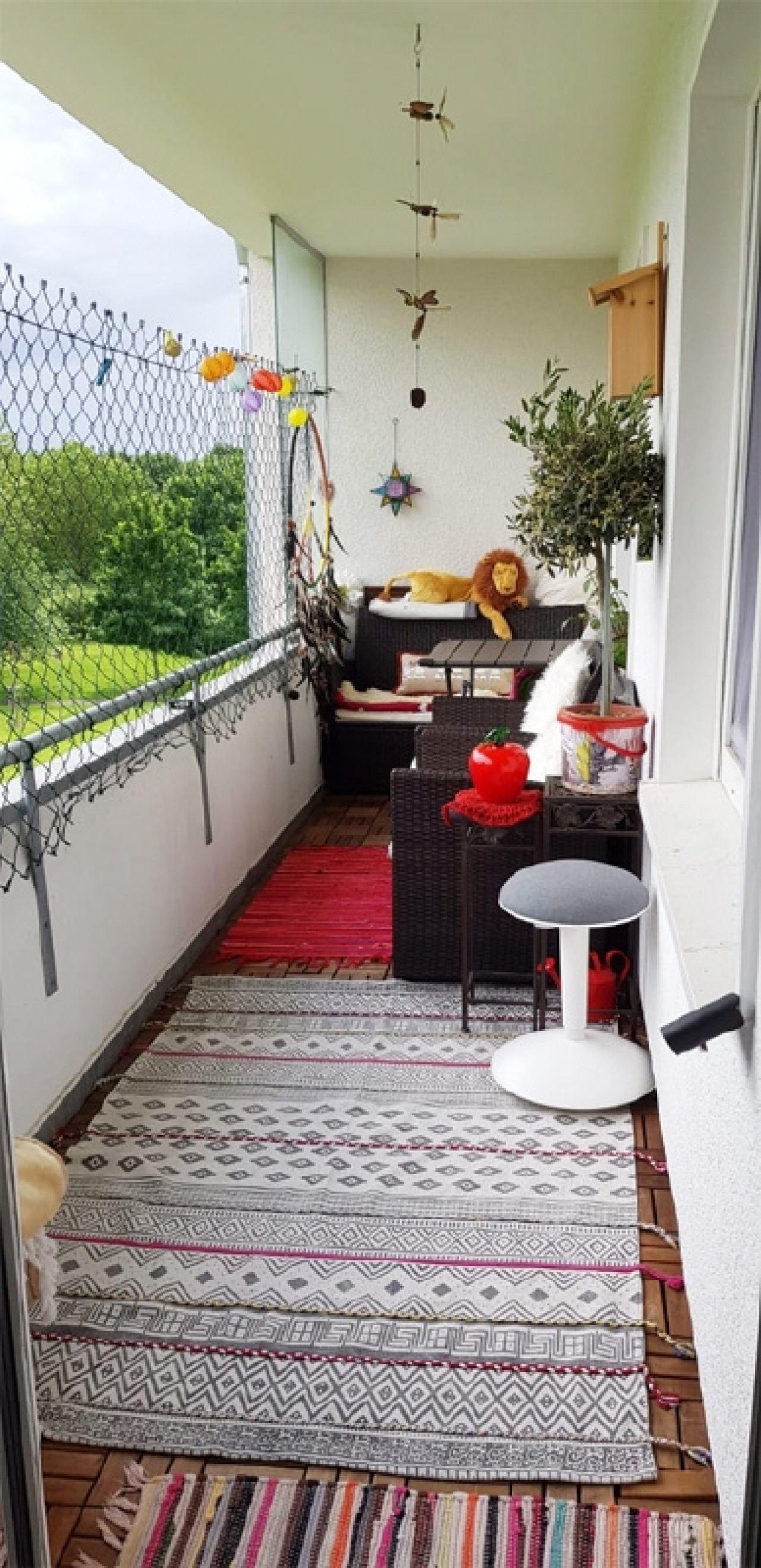 Balkon als Loggia