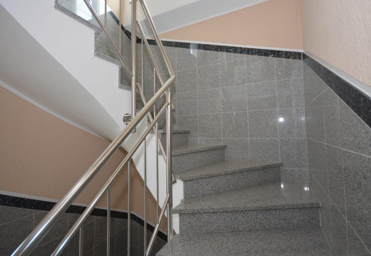 Das hochwertige Treppenhaus