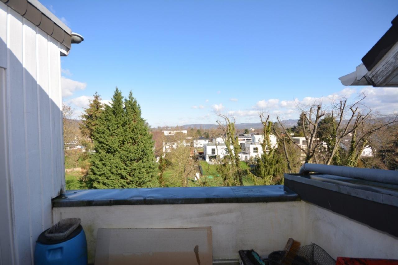 Blick vom hinteren Balkon
